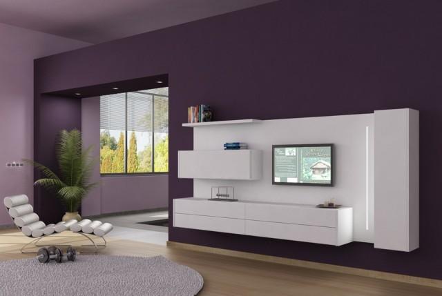 muebles de salón modernos se adaptan a las necesidades de cada hogar
