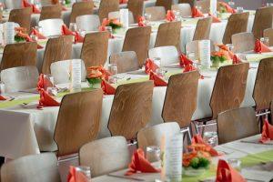 camareros extras - objetos promocionales